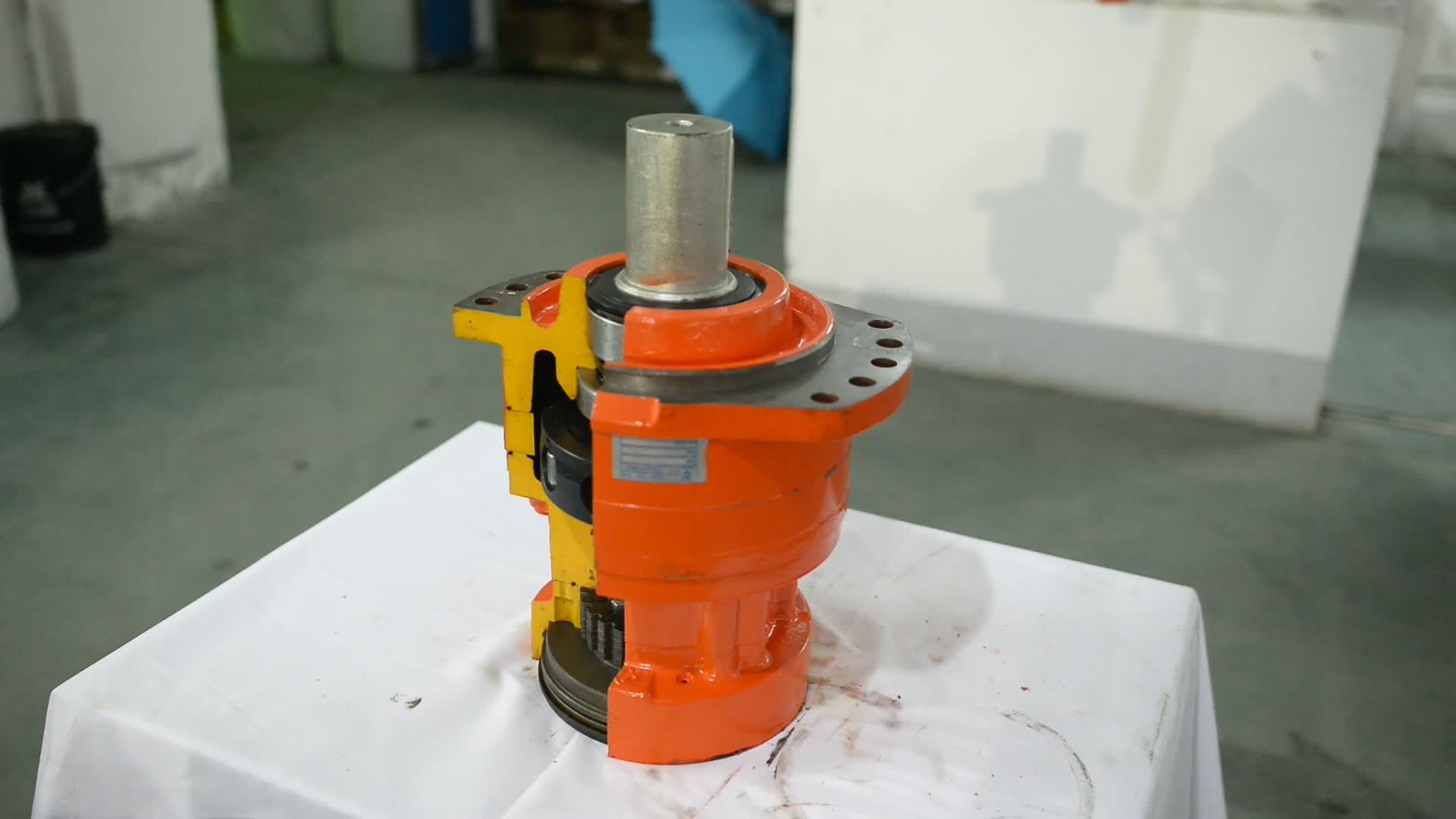 Poclain MS25/MSE25 MS25-2 Hydraulic Roller Motor Price For Cement Concrete Mixing Machine