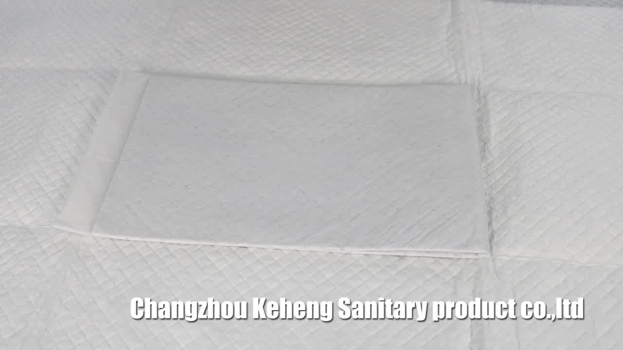 puppy training pad with Hot-rolled non-woven