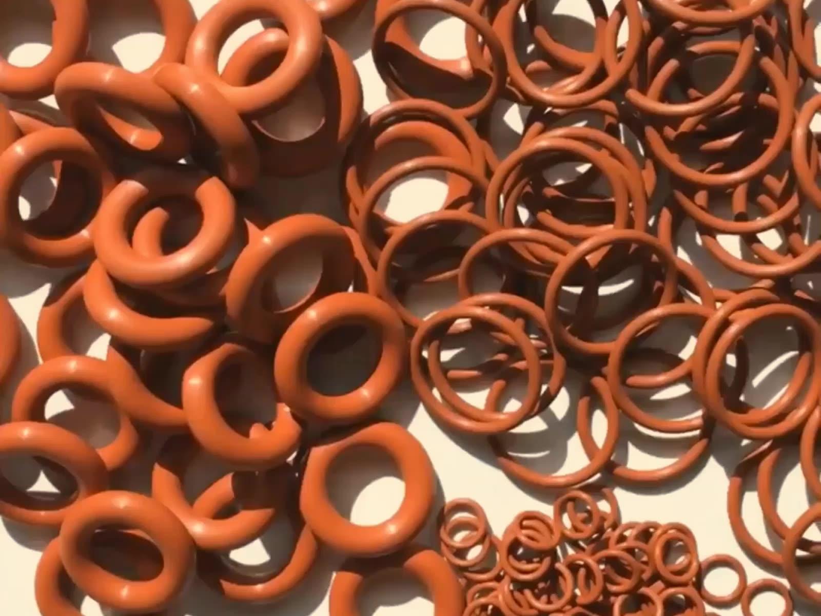 ChuYue Gummi Individuelles Logo Geführt Gekapselt Gummi O Ring Mit Zugfestigkeit