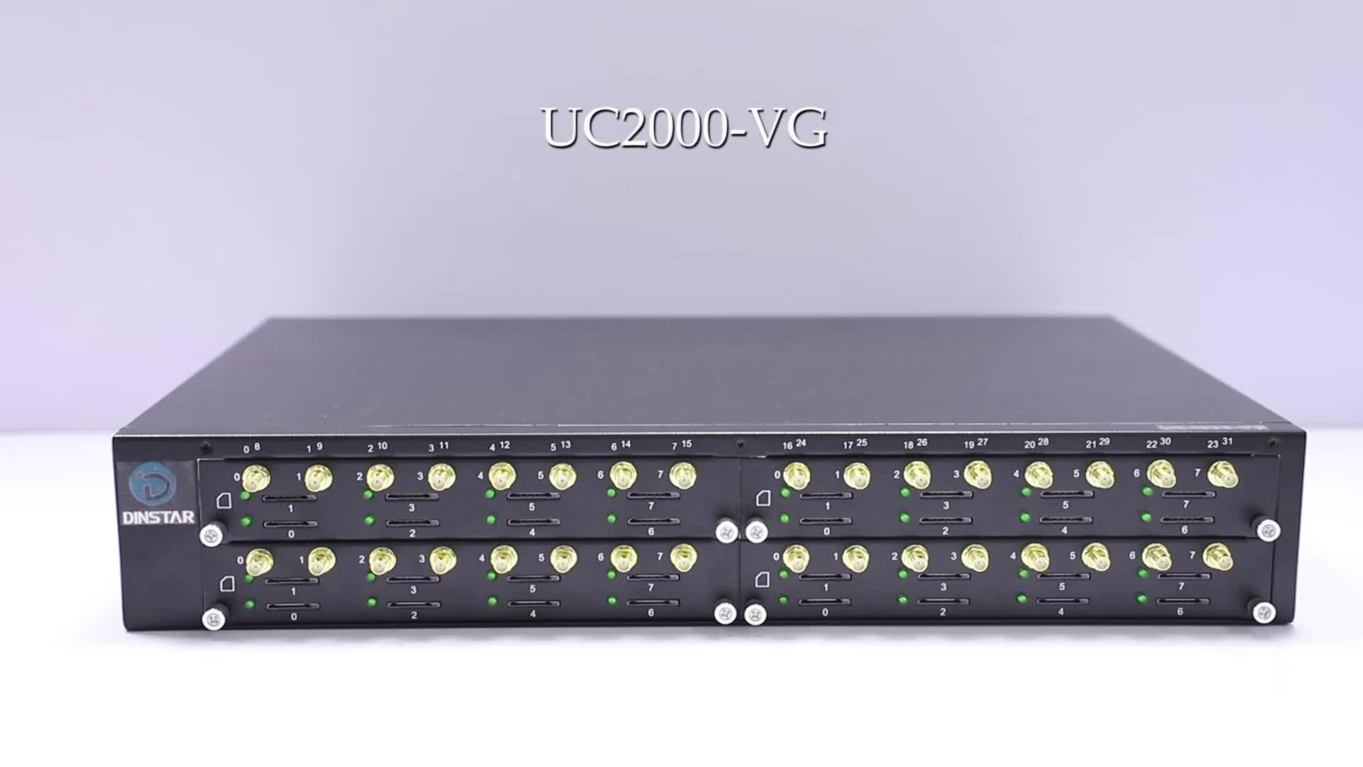 Asiisk Sip Gateway 32 Port SMS Gsm Voip Gateway