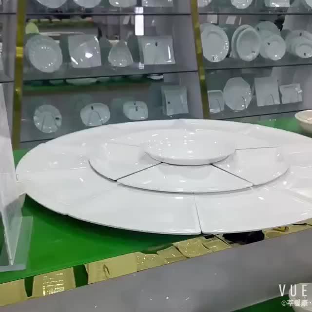โรงแรม catering fine สีขาวจานซุป porcelain ที่กำหนดเอง melamin เซรามิคคลาสสิกสีขาวจานซุป