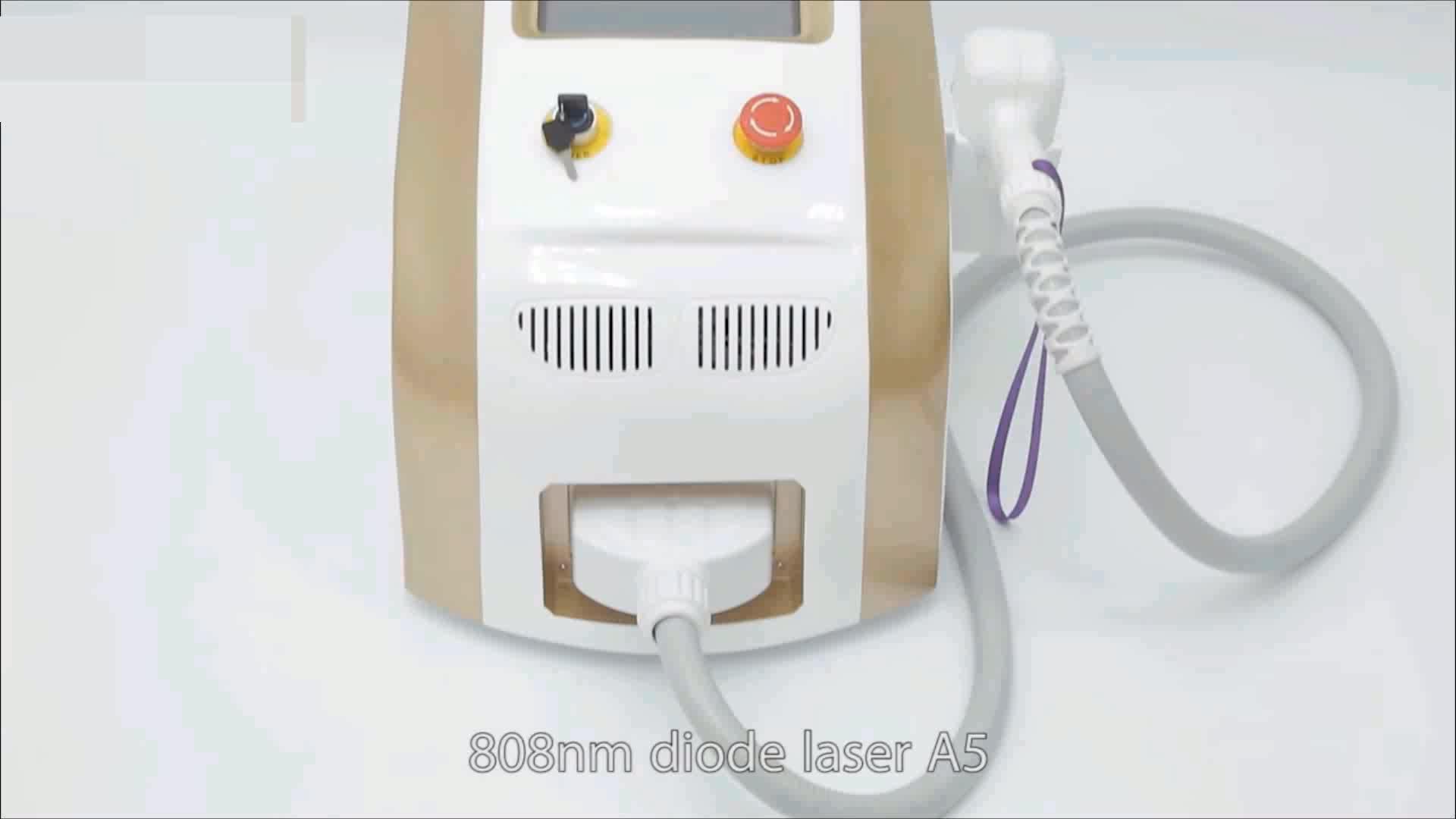 Tecnologia da Coréia! 2019 Mais recente diodo laser depilação máquina / 808nm diodo laser depilação