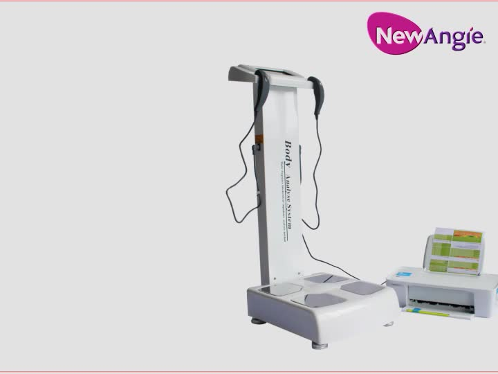 High quality human-body composition analyse equipment body fat analysis