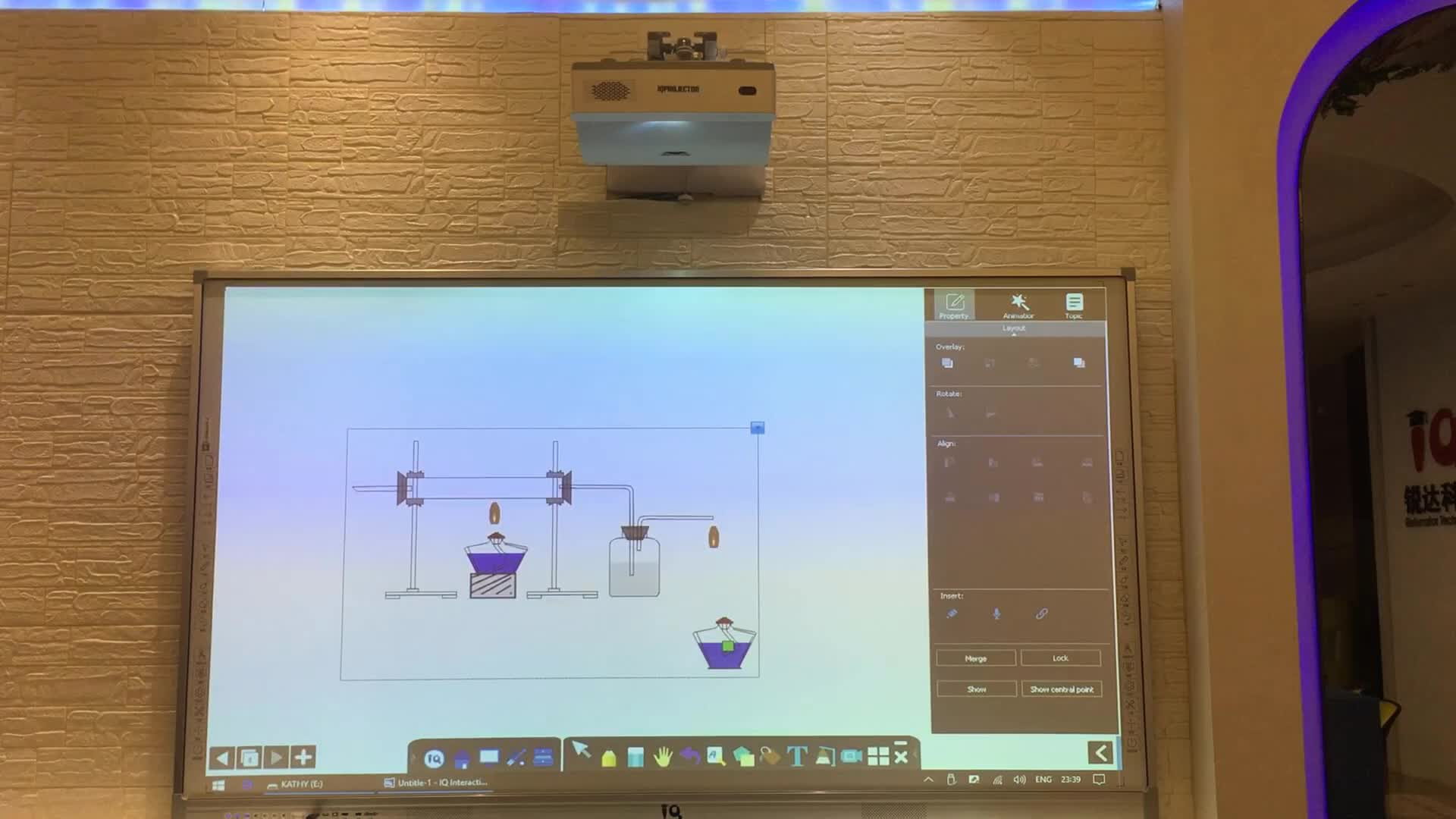 IQBoard Taşınabilir USB İnteraktif Beyaz Tahta