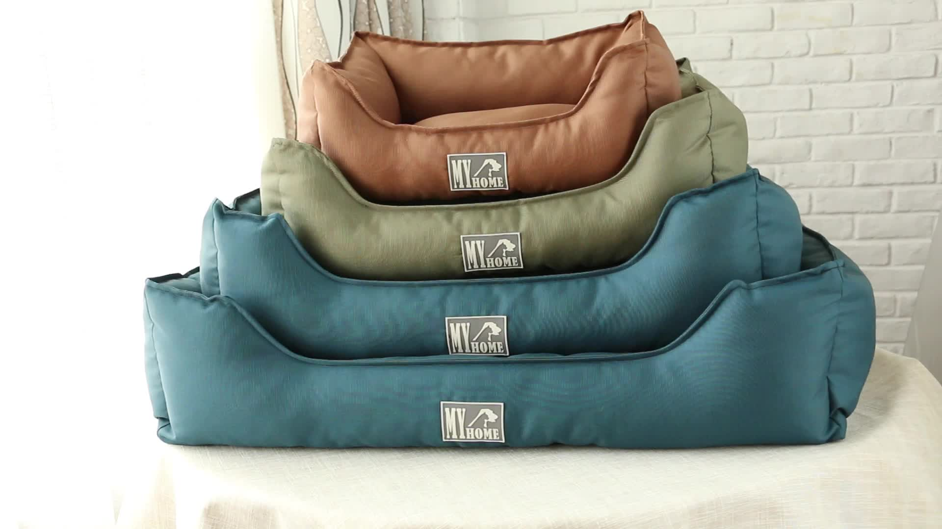 Removable  Folding Luxury Pet Bed Waterproof Washable Wholesale Dog Bed
