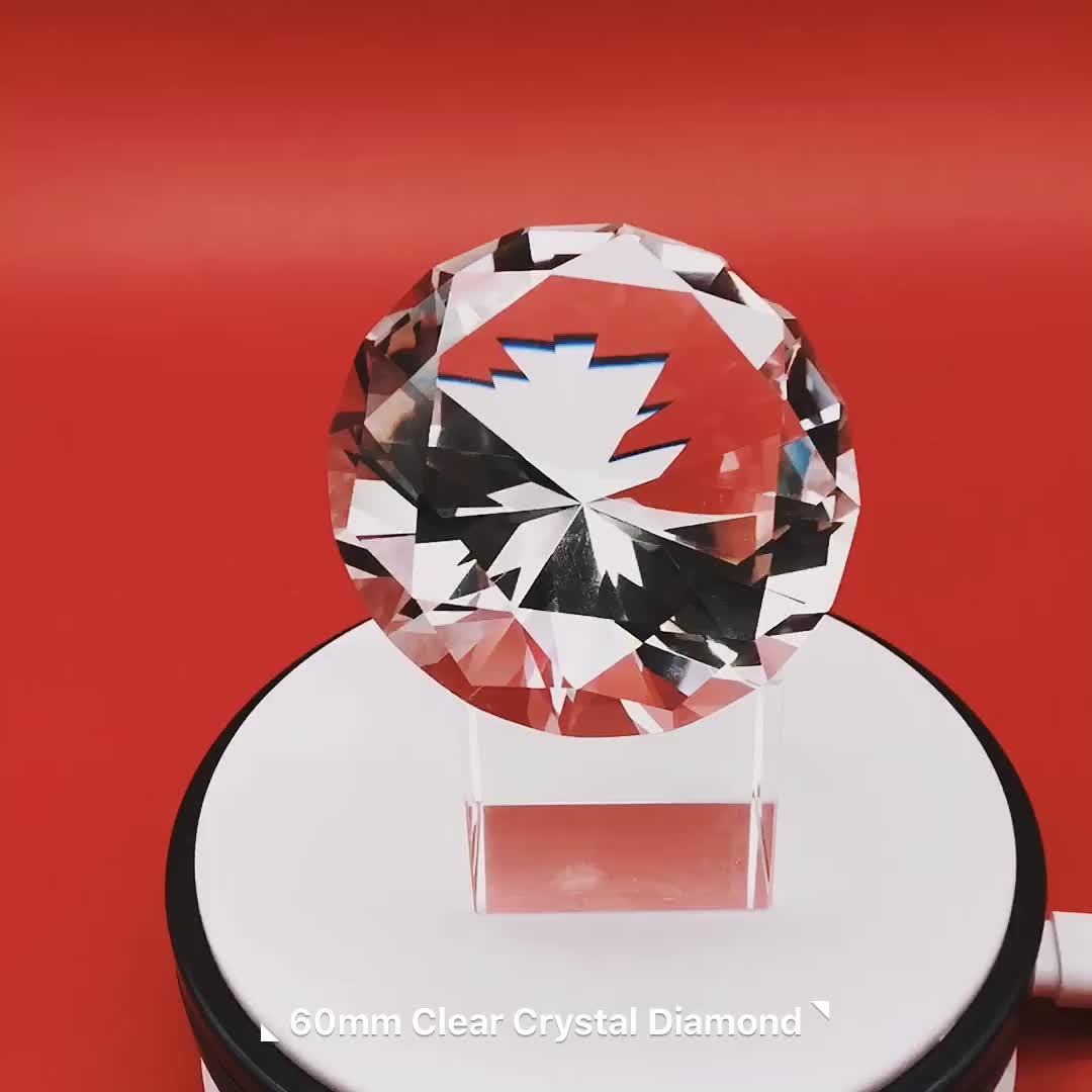 I Più Venduti Custom Design di Cristallo Per Il Commercio All'ingrosso 1 Carati di Diamanti Prezzo