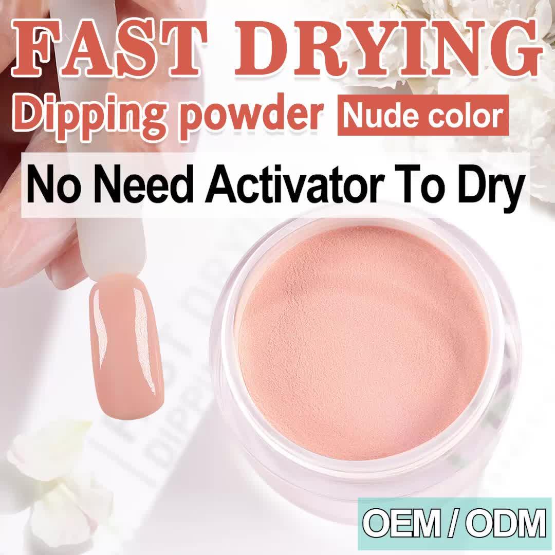 wholesale powder dip acrylic system kit for nails dip color powder fingernail polish