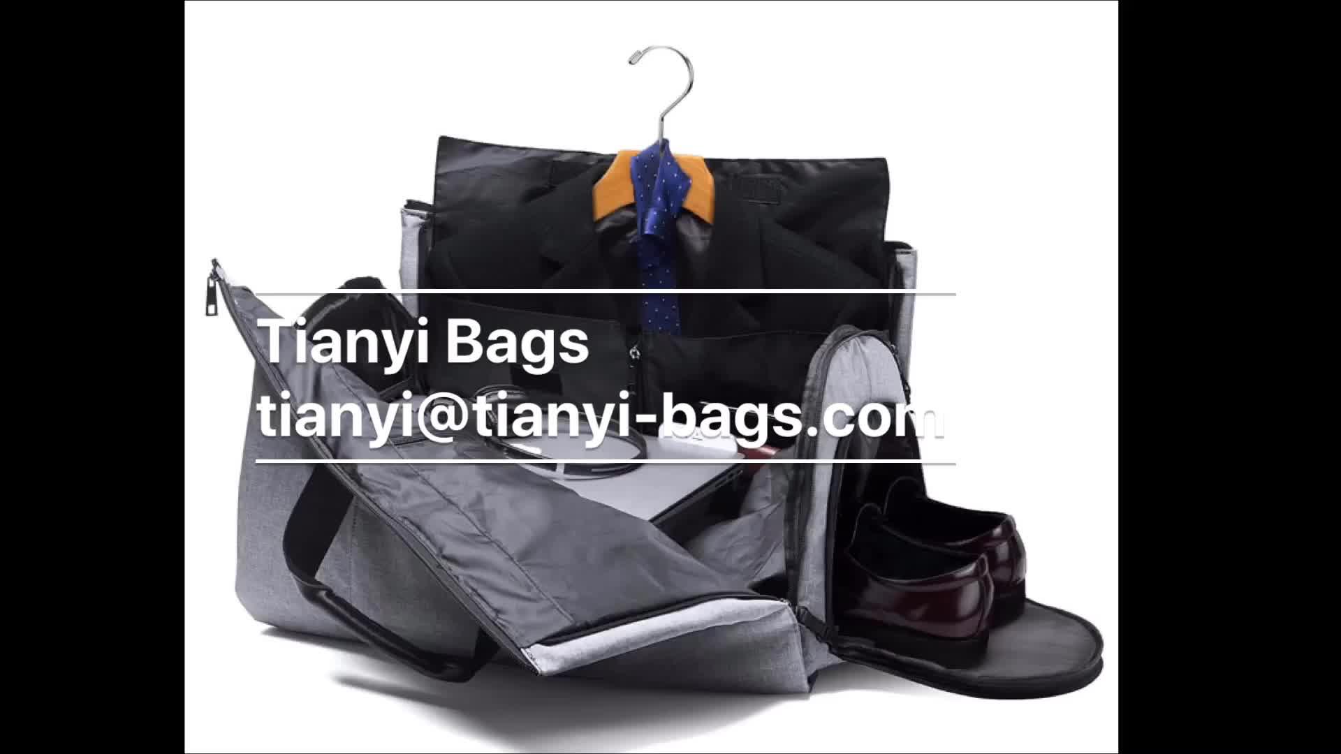 ขายส่งรถ duffel กระเป๋าเสื้อเสื้อผ้า tote ล่าสุดชุดกระเป๋าเดินทาง