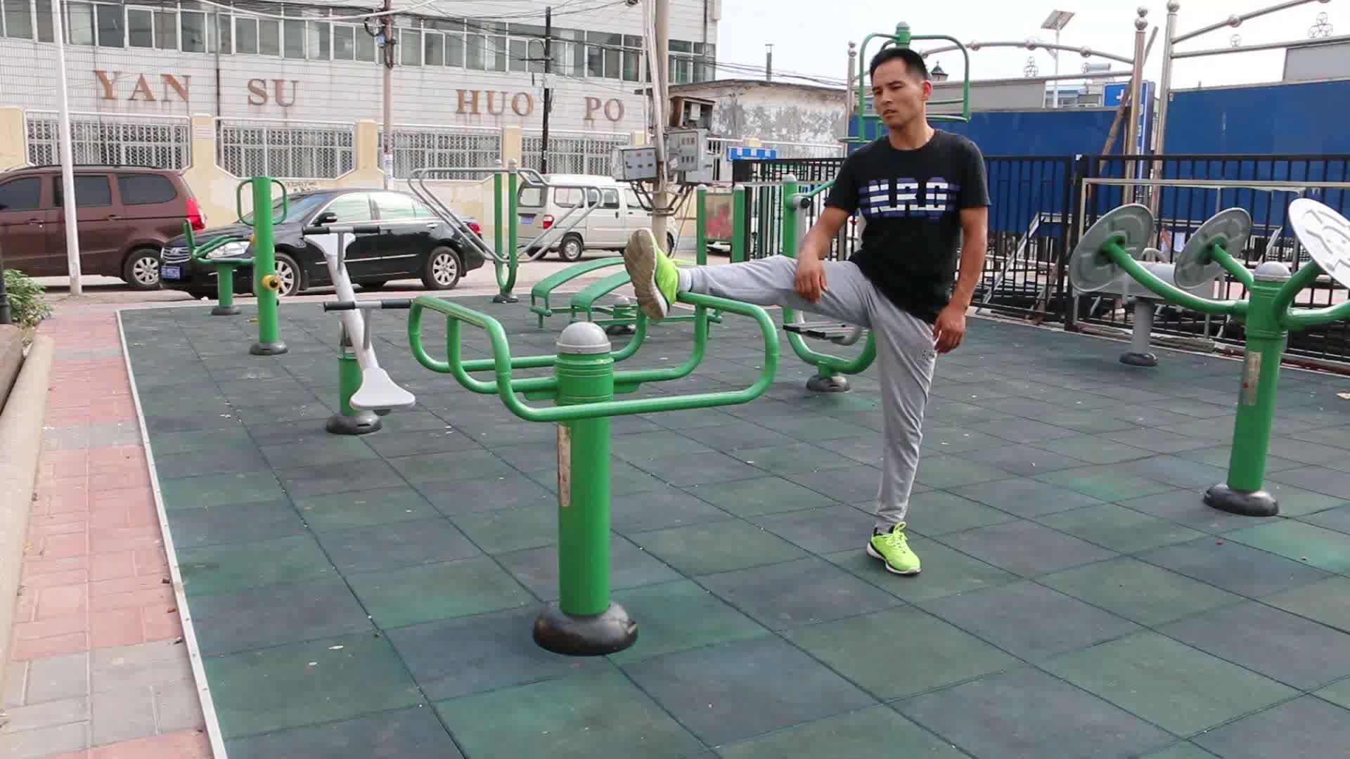 Übung Ausrüstung Gym China Outdoor Fitness Hersteller Erwachsene Straße Workout Ausrüstung Park Übung ausrüstung Bein stretch