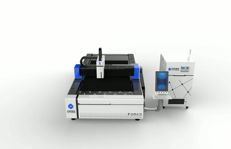 Sıcak satış Tianchen 3015F ucuz cnc fiber lazer kesim makinesi