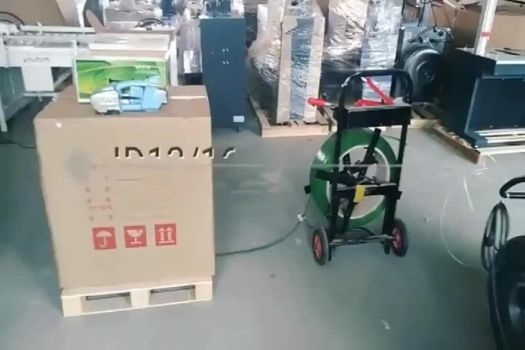 Cintura Banding Imballaggio Macchina Portatile Elettrico Reggiatrice PP/PET Reggiatrice di Potenza Della Batteria
