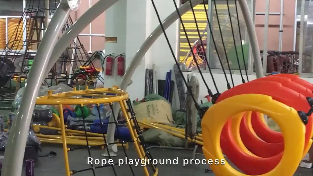 2019 नई शैली आउटडोर खेल का मैदान चढ़ाई जाल बच्चों प्लास्टिक पर्वतारोही और स्लाइड बंदर बार