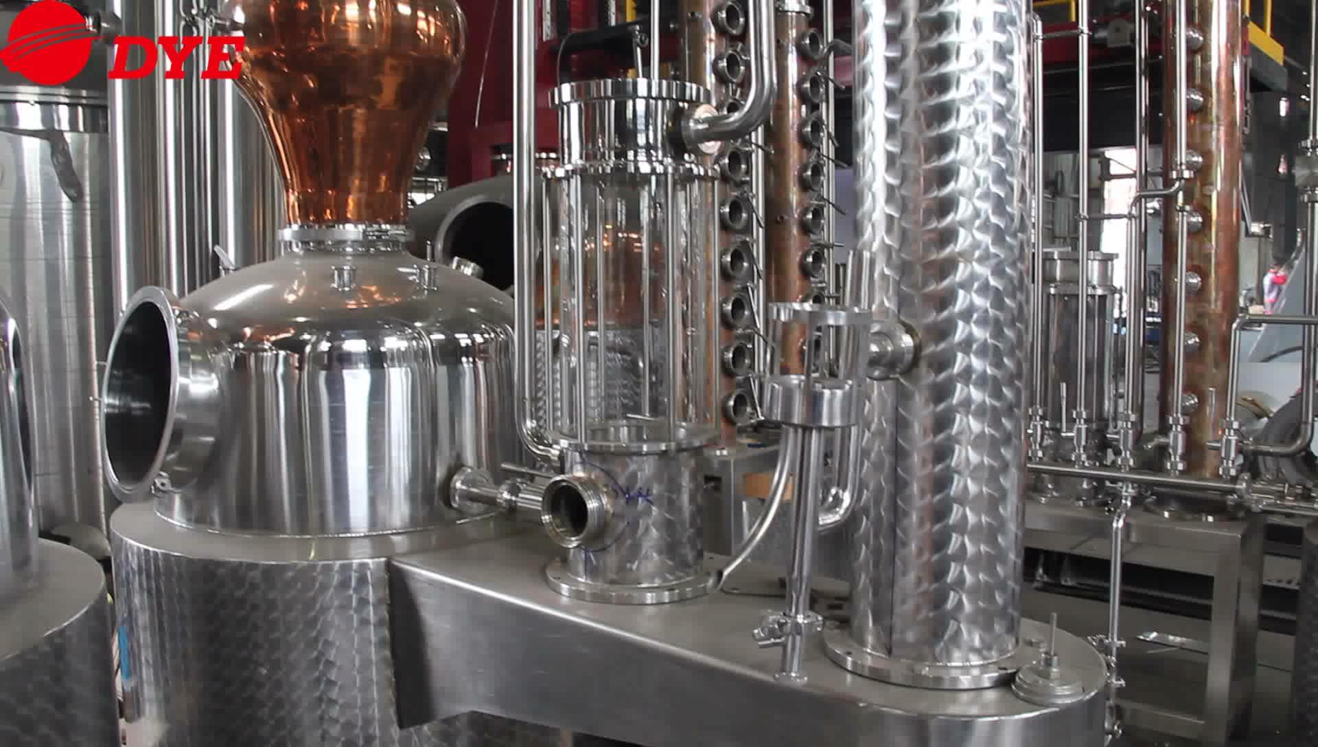 300 LWhiskey destill Industriële Gin alcohol wijn distiller