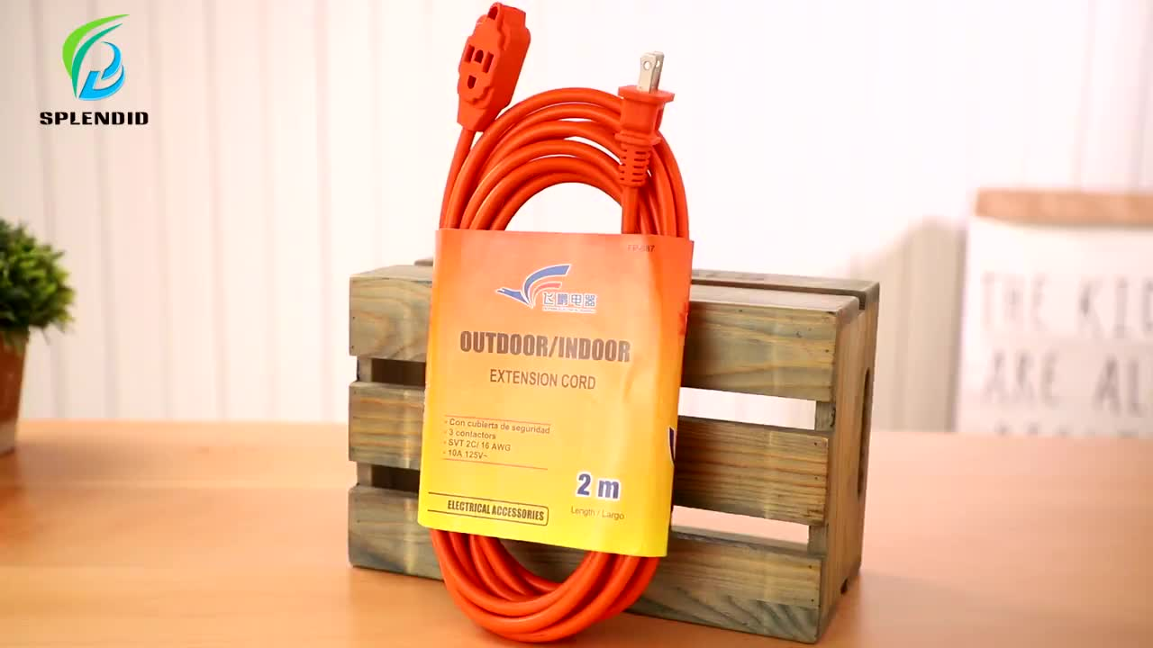 China supplier good quality power extension cord