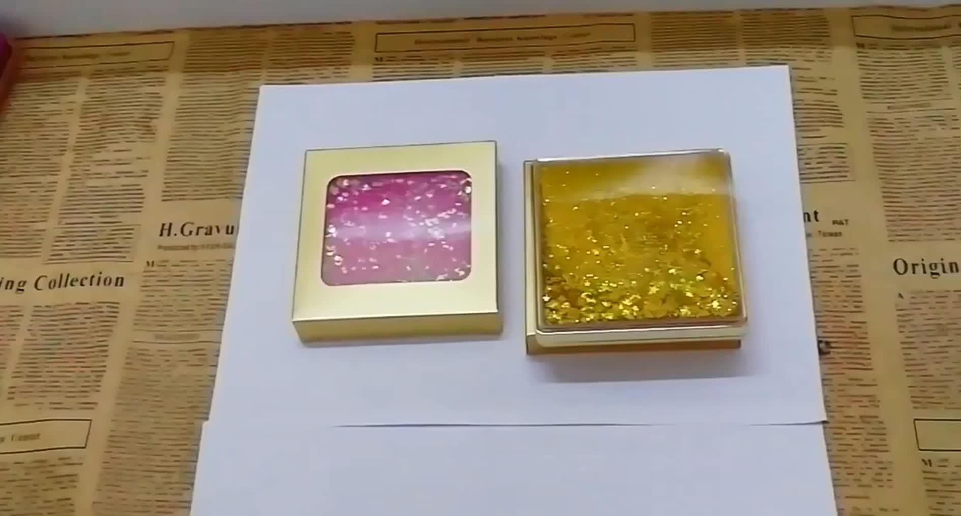 Treibsand Design Lidschatten Make-Up Palette Matte & Schimmer 12 farbe Lang Anhaltende Lidschatten Pulver mit spiegel