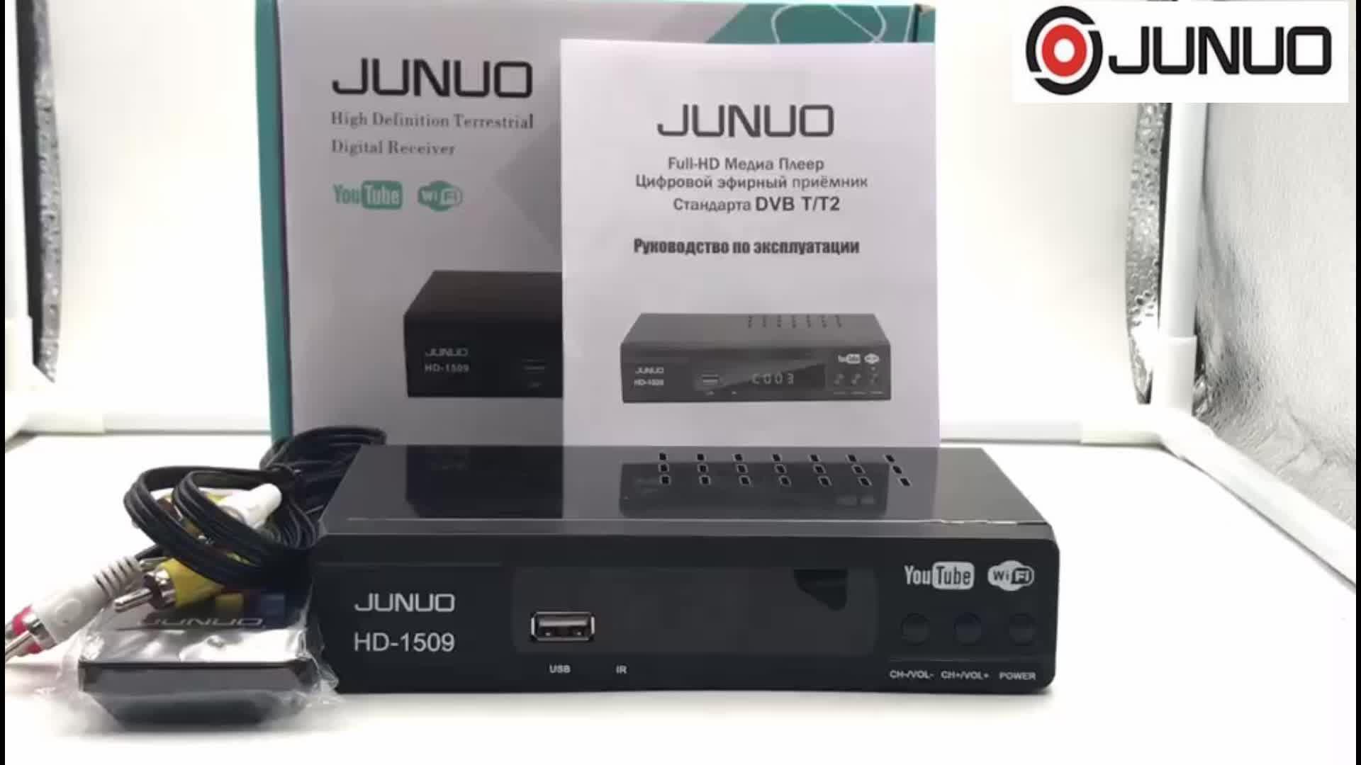 2019 nuovi prodotti Più venduti full hd dvb t2 ricevitore tv