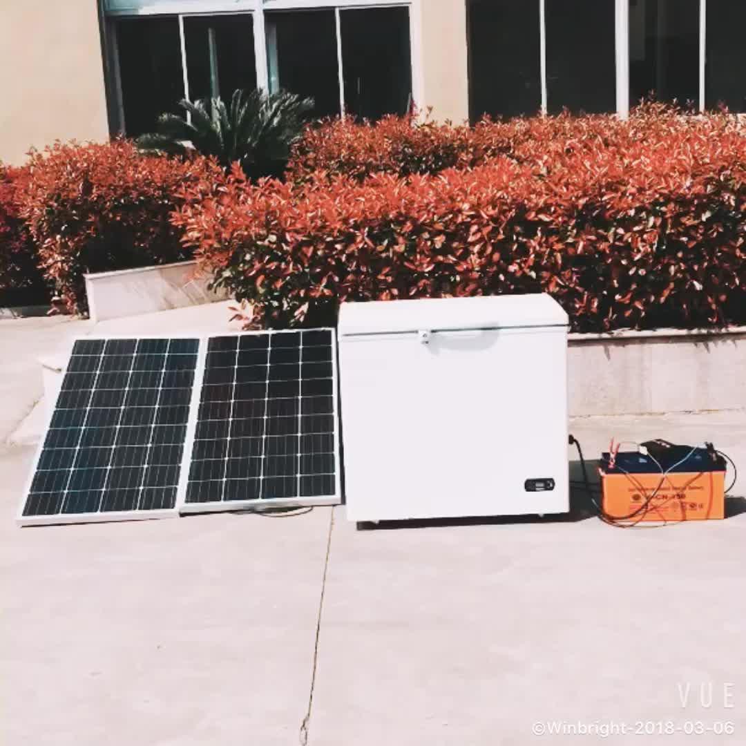Solar Chest deep Freezer 12V 200L ice maker for motor homes caravan