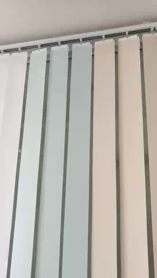 Wholesale Custom Elegent Elements Vertical Retractable Blind Shades