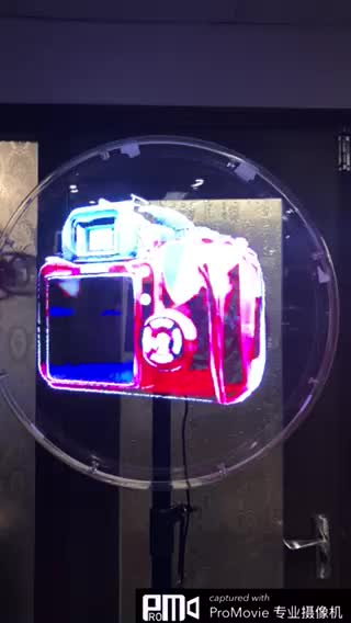 Hot Selling 42cm 3D Hologram Advertising Display  HD image professional Holographic machine