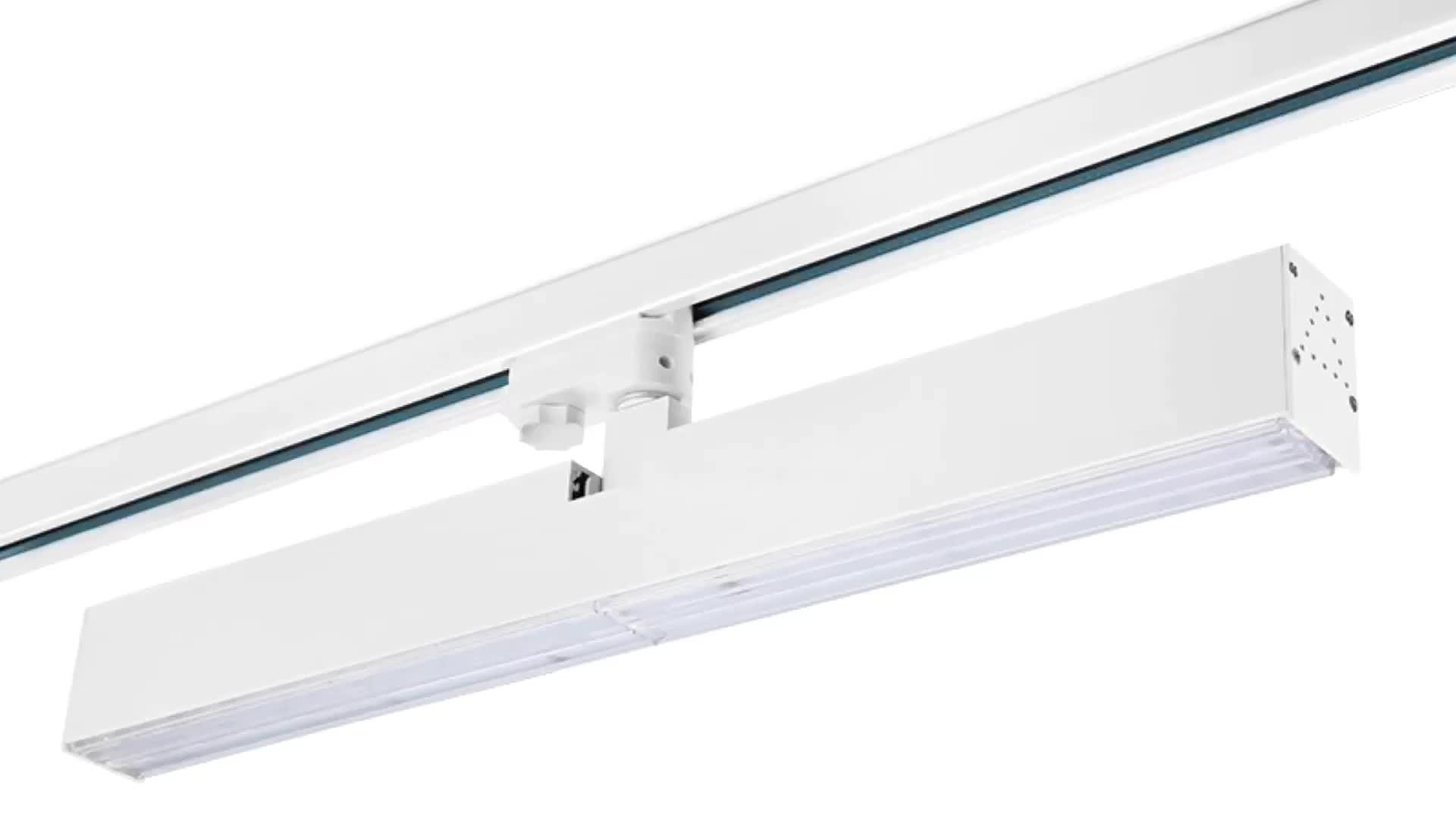 Linear Dimmable Magnetic Rail Remote Control COB 30 W LED Track Light