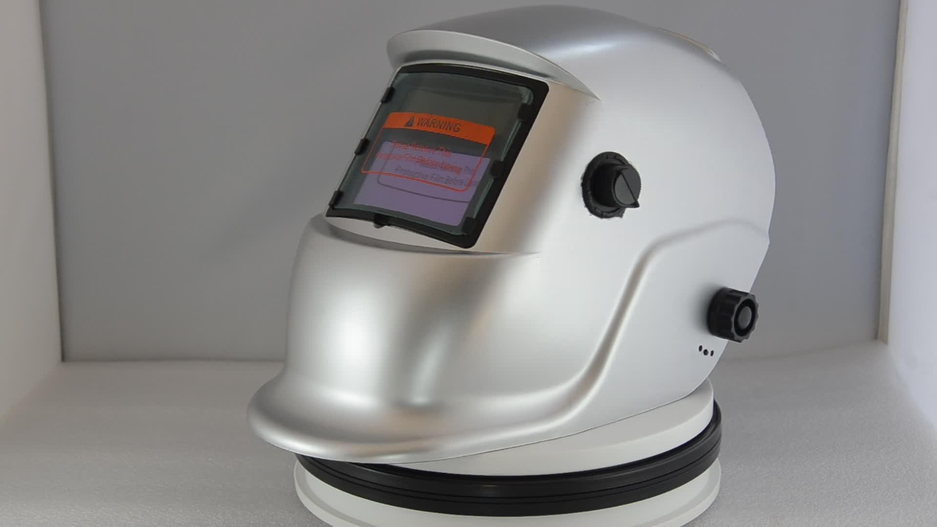 DIN9-13 Bóng Tối Chức Năng Mài Solar Tự Động Thẫm Màu Hàn Helmets
