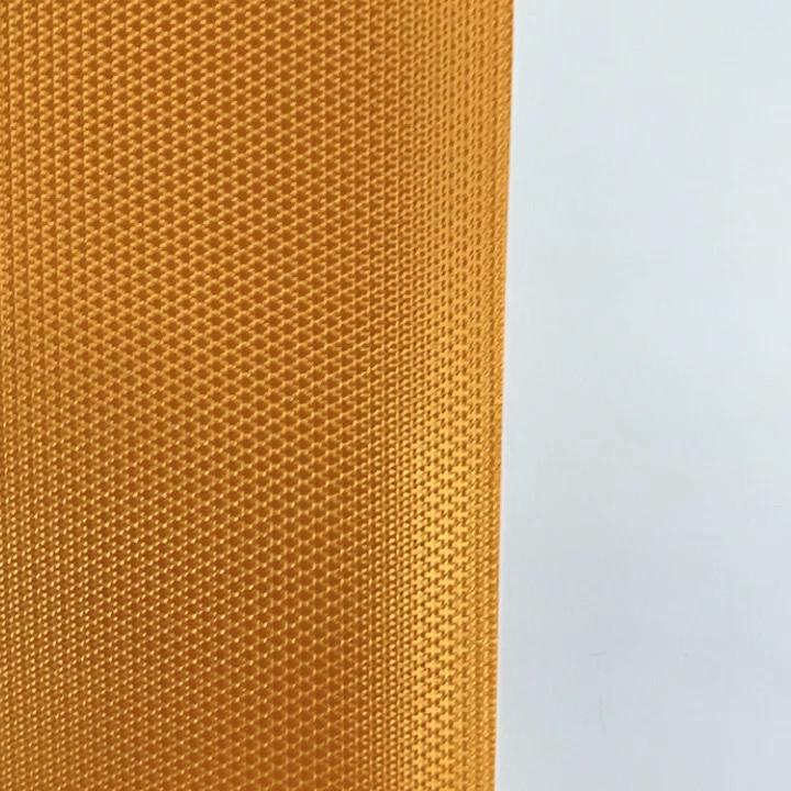 Çin Jinyi üretilen jakarlı antimic su geçirmez 300D * 300D kaplı branda kumaş çanta ipliği brezilya