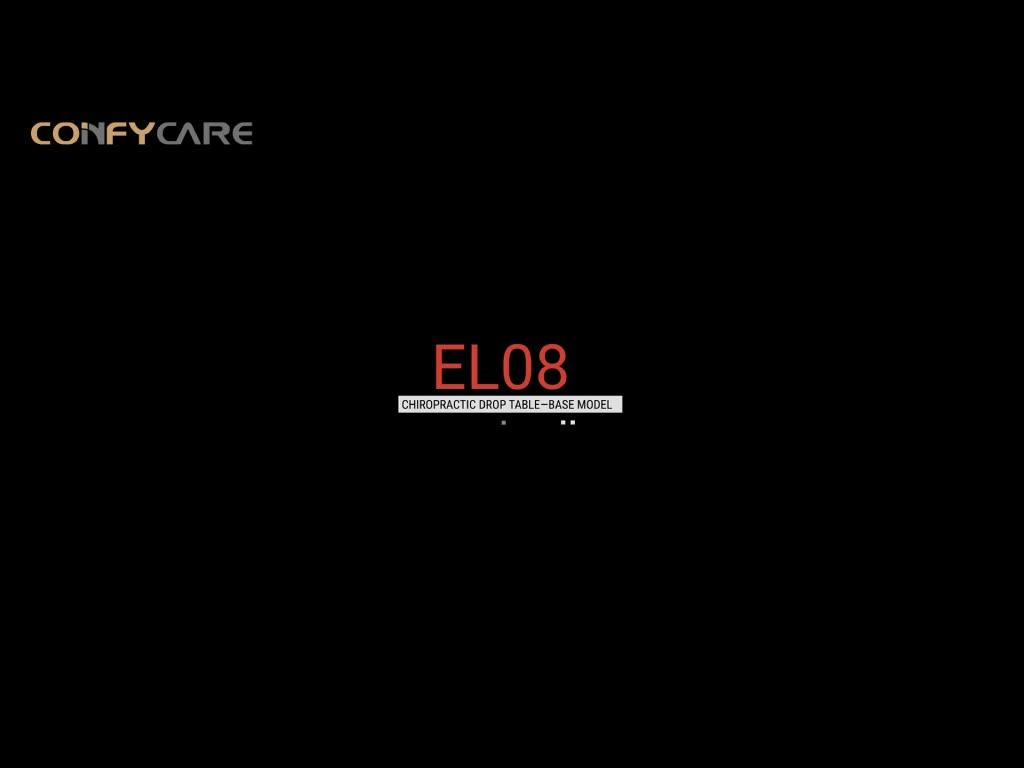 COINFYCARE EL08 CE/FDA/ISO 공장 멀티 섹션 전기 가변 높이 Chiropractic 드롭 테이블