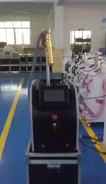 2019  CE  approved  pico laser machine q switched nd yag laser tattoo removal machine