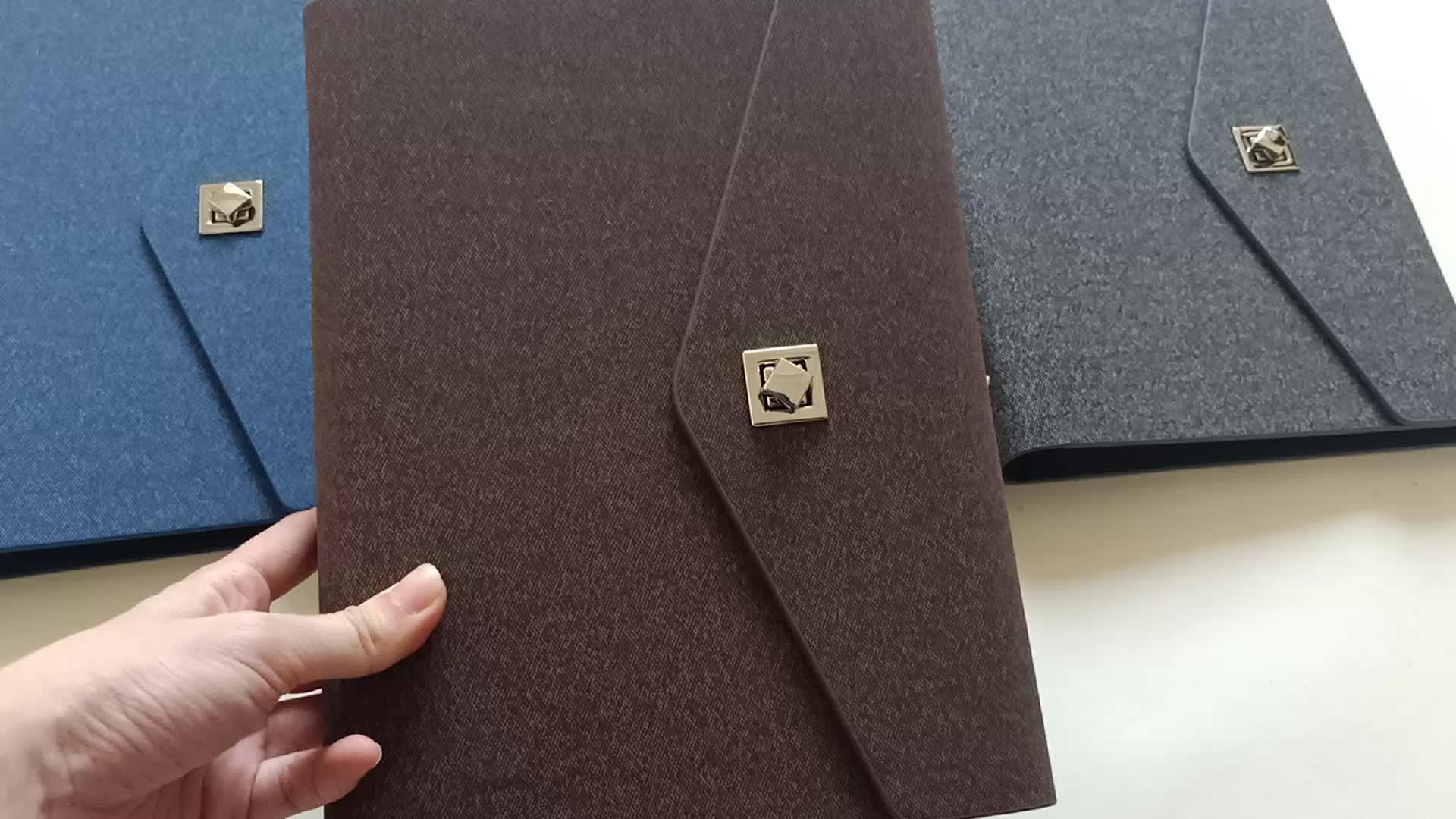 Kantor Perusahaan Pribadi Diary Jurnal Planner Agenda 2020 dengan 6 Ring Binder
