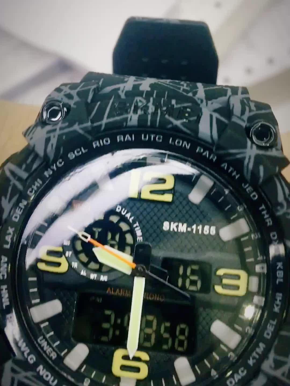 Free Shipping USA Sport Analog Watch Skmei 1155B Digital Popular Watch