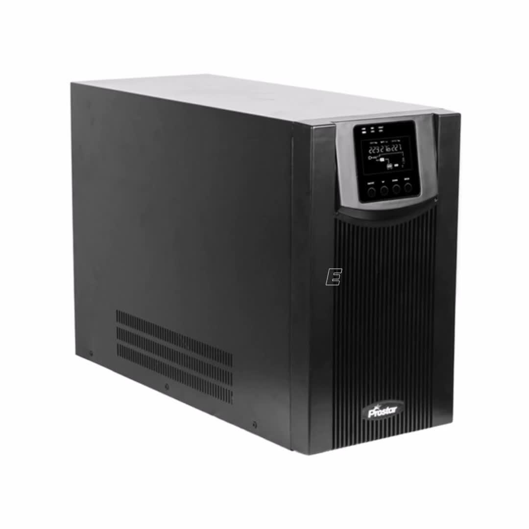 6.5KVA 24VDC 라인 인터랙티브 UPS 백업 전원 시스템 컴퓨터