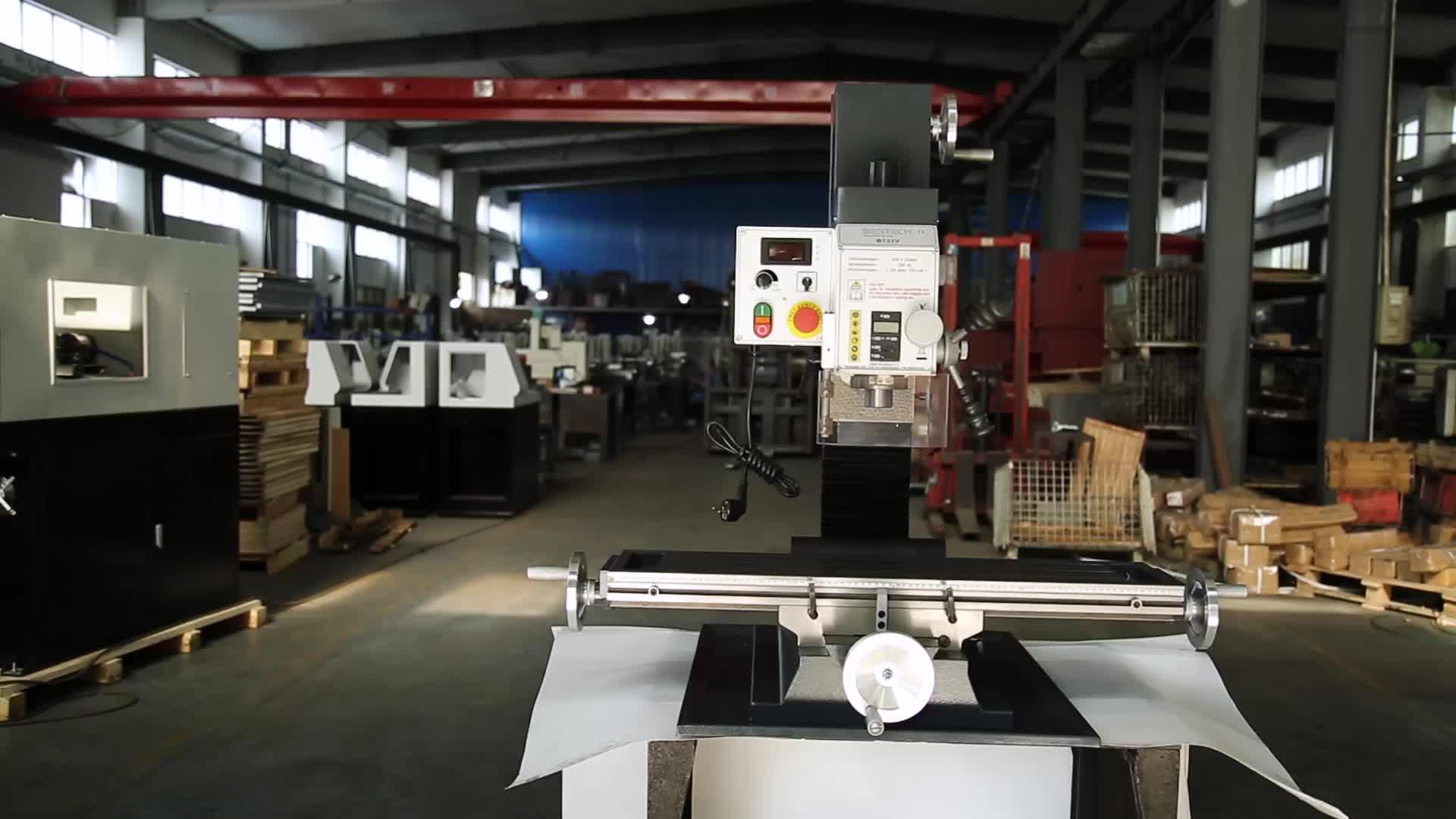 BT32V Variable speed bench fräsen maschine für metall arbeiten