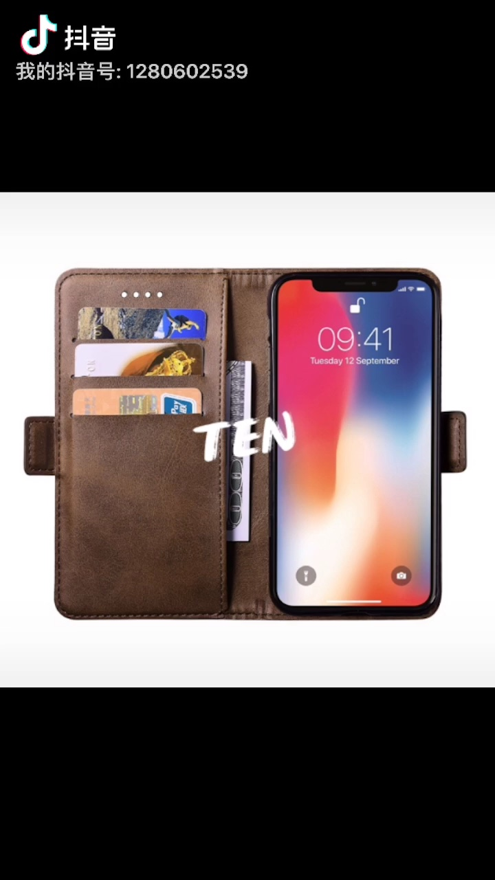 2019 New Retro PU Leather Strong Magnet Book Mobile Phone  Case For Huawei Mate 10 Pro