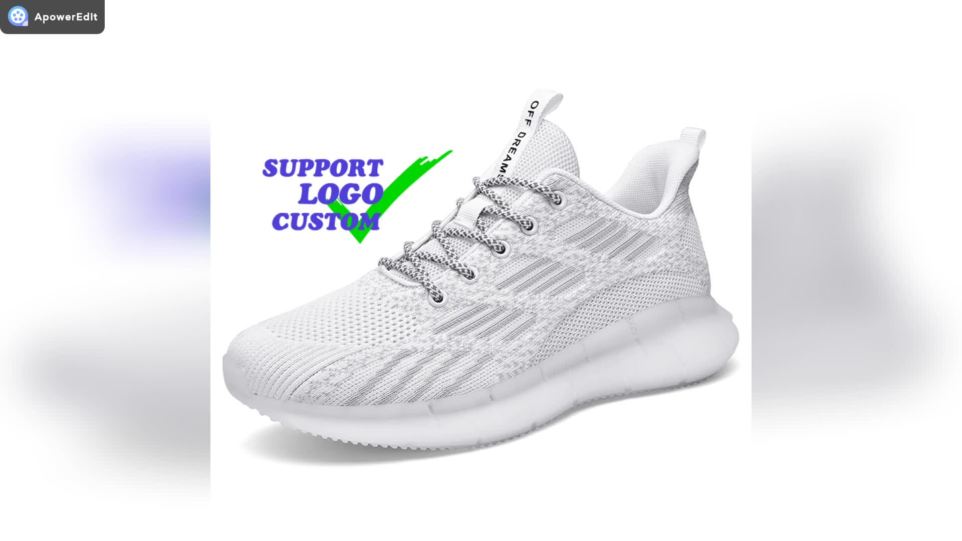US Men 6-11 Wholesale Reflective Lace Fashion Support Brand Custom LOGO Small MOQ Latest Keychain Men Shoes Sneaker