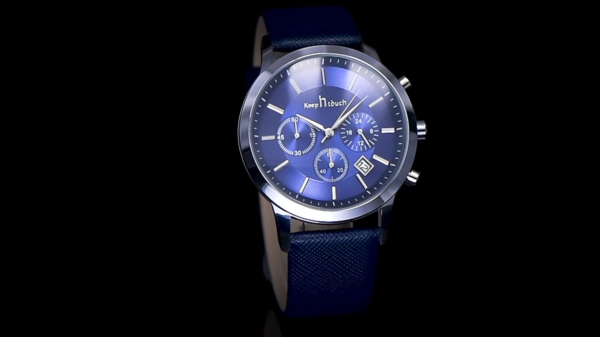 Duurzaam ontwerp dienst multicolor rusland prijzen indian slim luxe distributeurs premium casual horloge mannen
