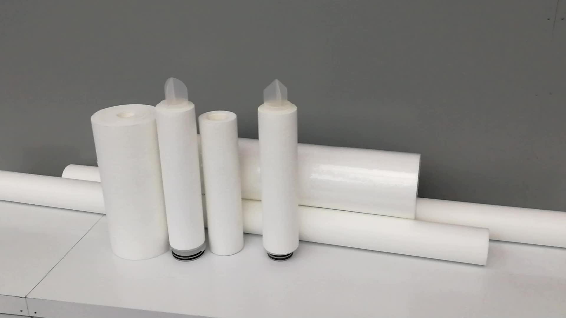 Polipropilen tortu derinlik için eleman filtre filtre kartuşu