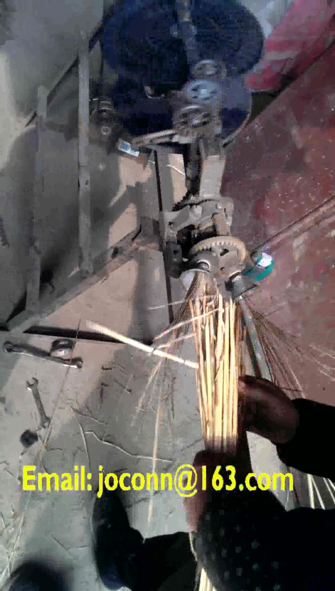 Pequena corda de cânhamo corda tricô de palha que faz a máquina máquina de torção corda da grama do mar que faz a máquina