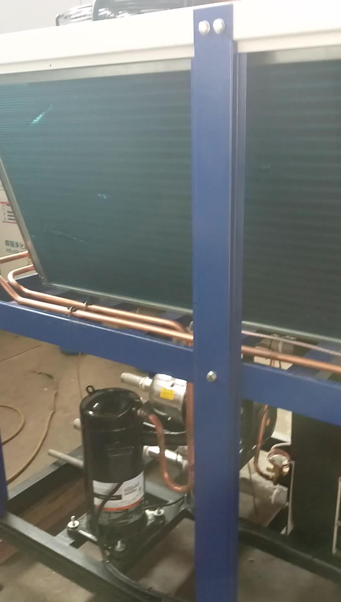 Chiller Per Il Tubo IN PVC Acqua di Raffreddamento Raffreddato ad Aria Chiller Sistema Di Raffreddamento Che Soffia Macchina Chiller