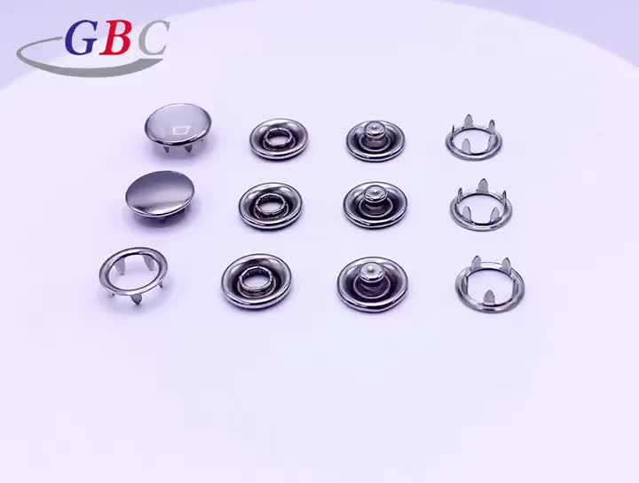 Good Supplier Metal Plating Buttons and Snap
