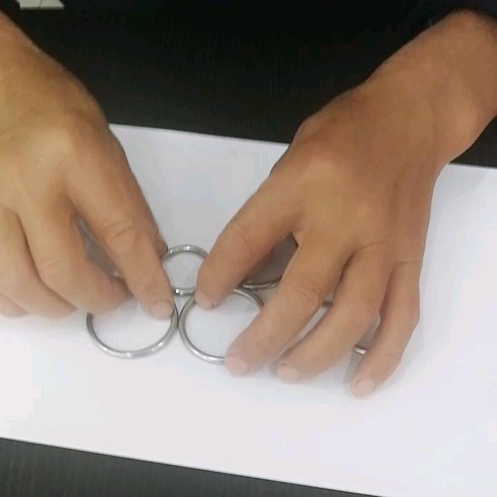 20mm 25mm metal o-ring stainless steel o ring for dog collar or handbag