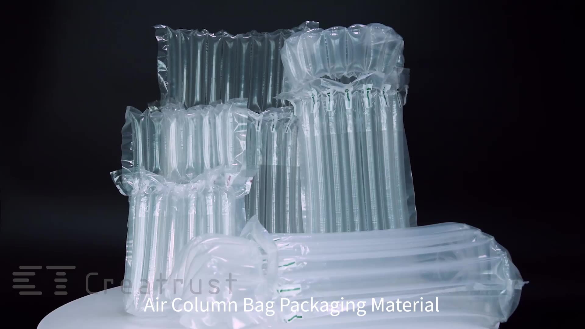 Nylon air packaging bubble bag pack protection wrap custom with Good Service