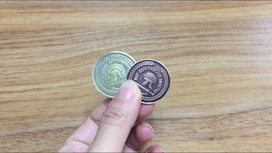 Manufacture metal coins Factory custom british coins