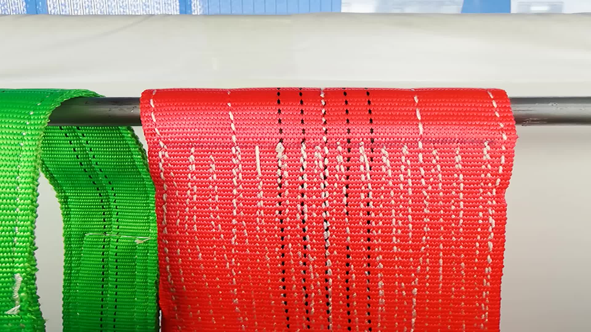 Round flat polyester sling 웨빙 sling belt