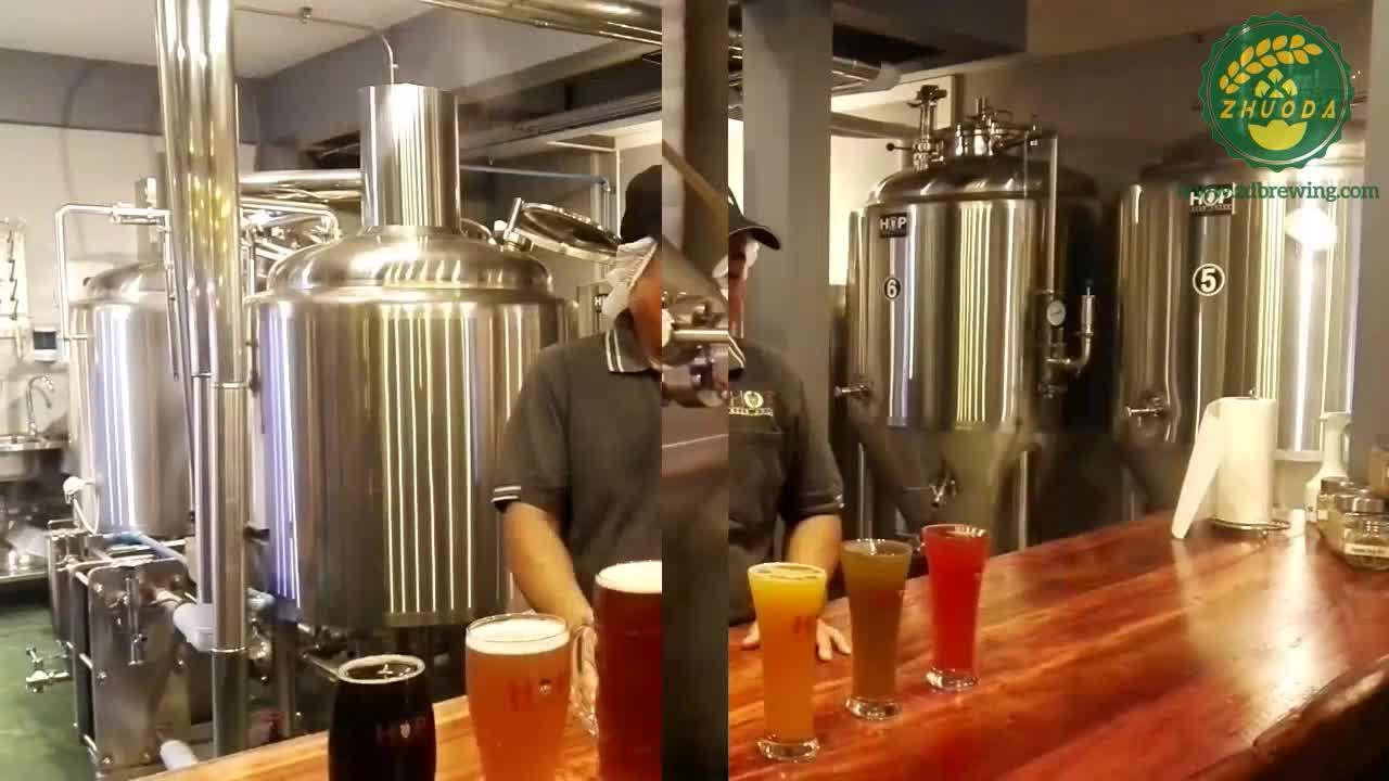 6 kafaları Fabrikası bira doldurma makinesi