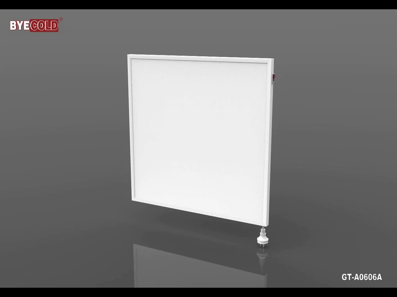 320W Square Infrared Heating Panel for walls and ceilings