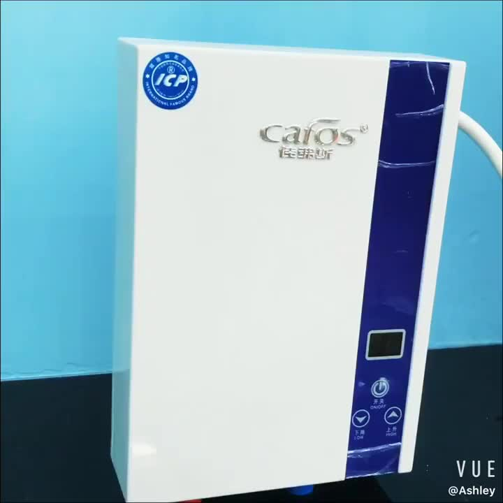 3KW-E7 white mini portable bath Instant tankless Electric Water Heater for kitchen