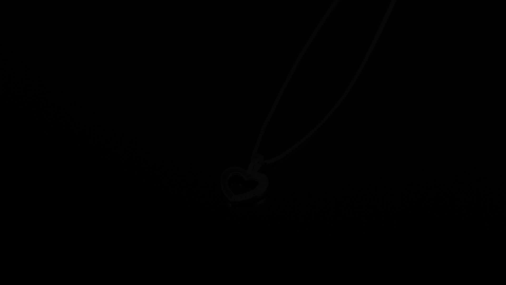 큐빅 지르코니아 Love Heart 펜 던 트 Necklace 925 Sterling Silver 16 인치 From JewelryPalace