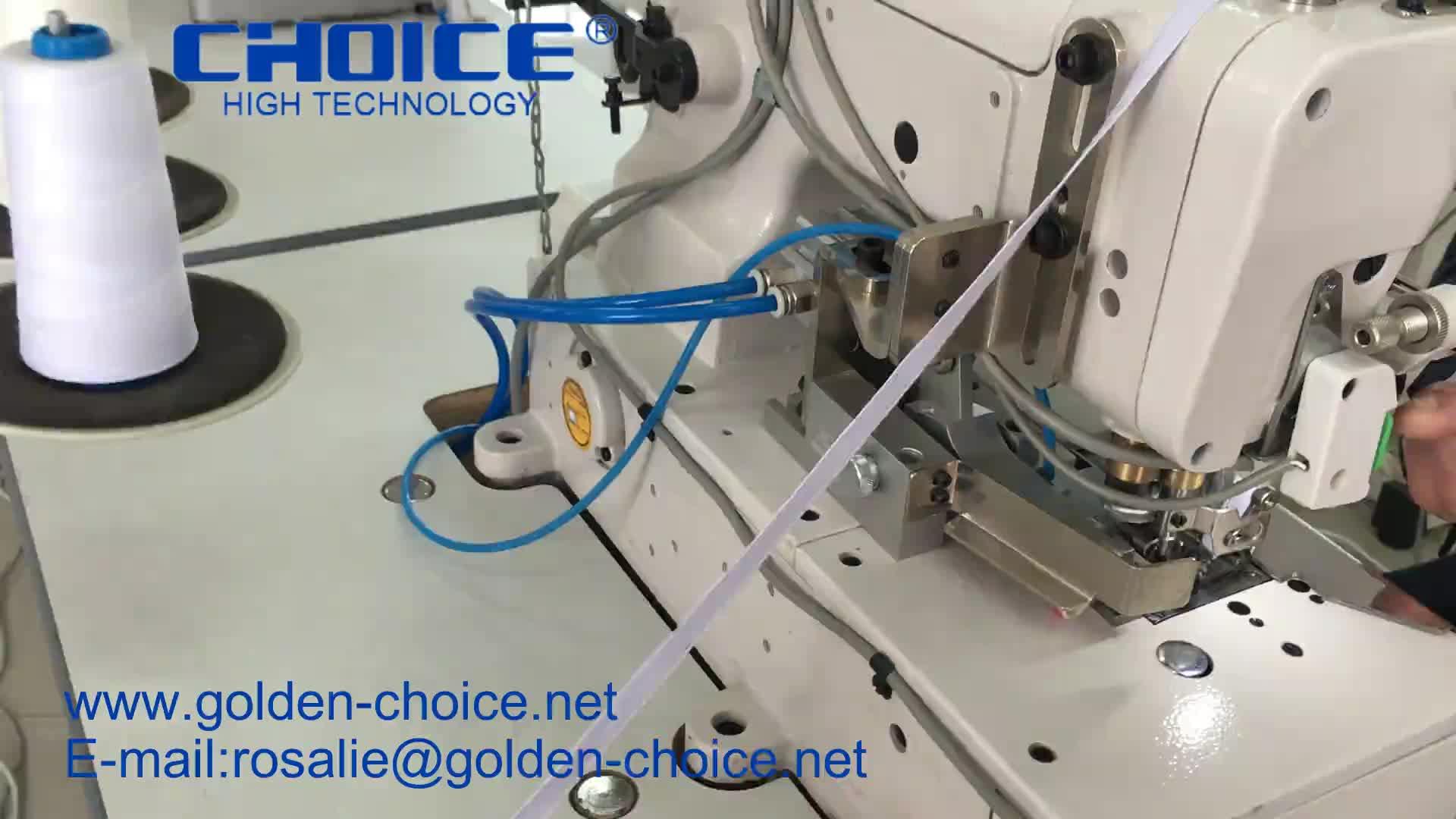 GC500-05CB/डीडी डायरेक्ट ड्राइव फ्लैट बिस्तर के लिए लोचदार या फीता संलग्न flatlock गूंथ औद्योगिक सिलाई मशीन