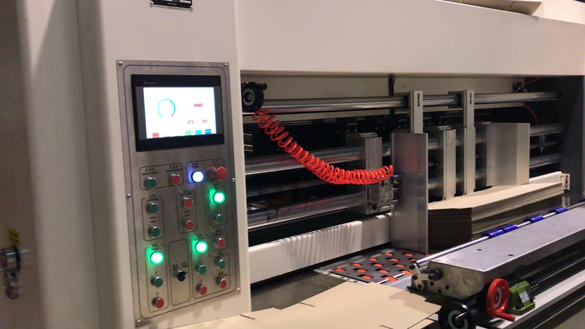 COME-1426 scatola Automatica sbozzare macchine per cartone ondulato macchina