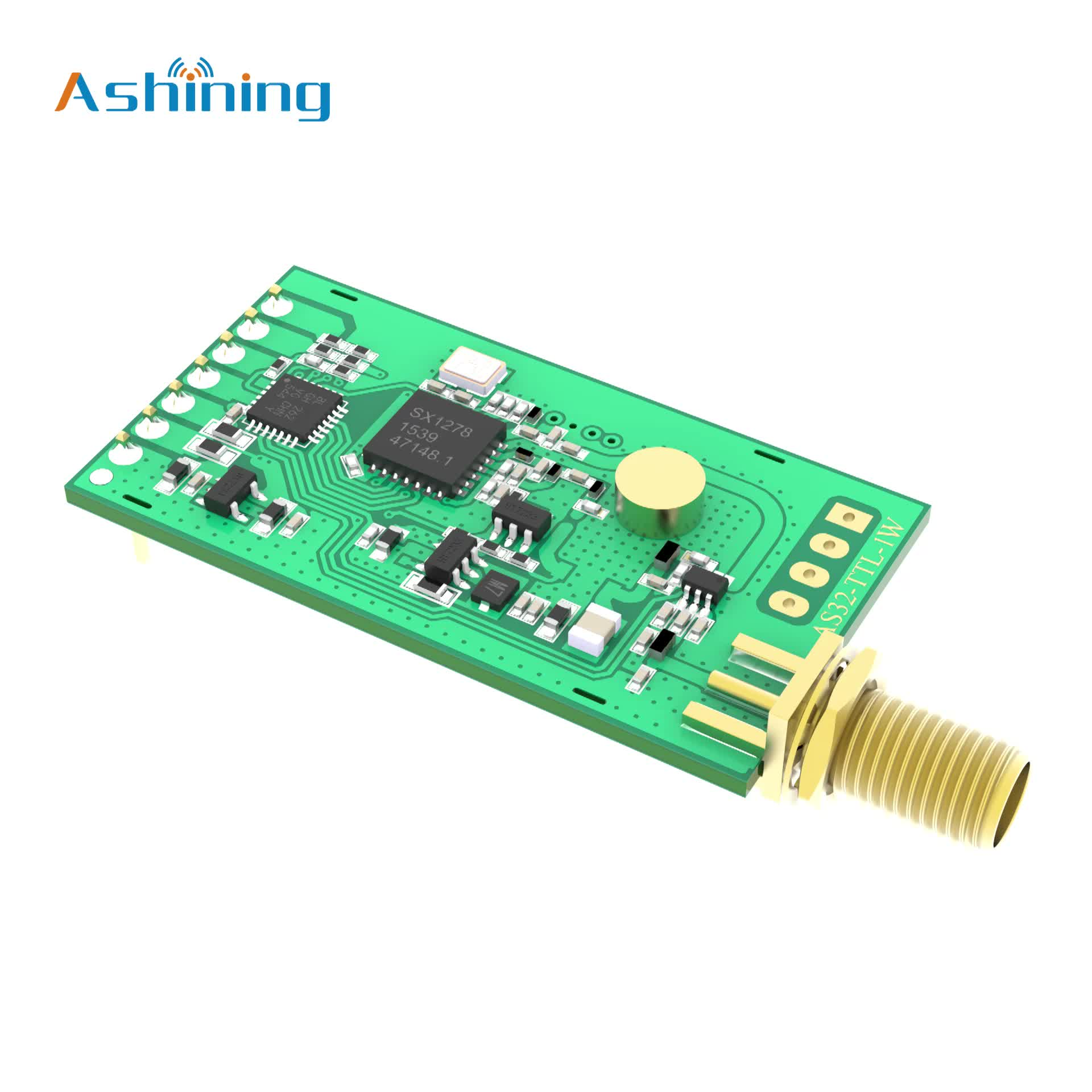 Long range 8KM transceiver  high power rf wireless transmitter module 433mhz  LORA module